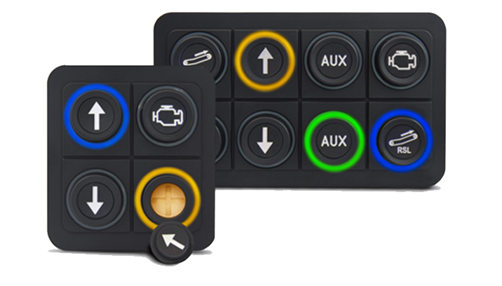 PKP-LI series CAN keypads by blinkmarine