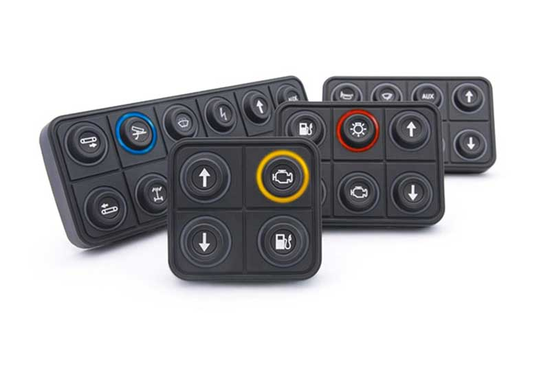 PKP-SI- SERIES CAN BUS KEYPADS