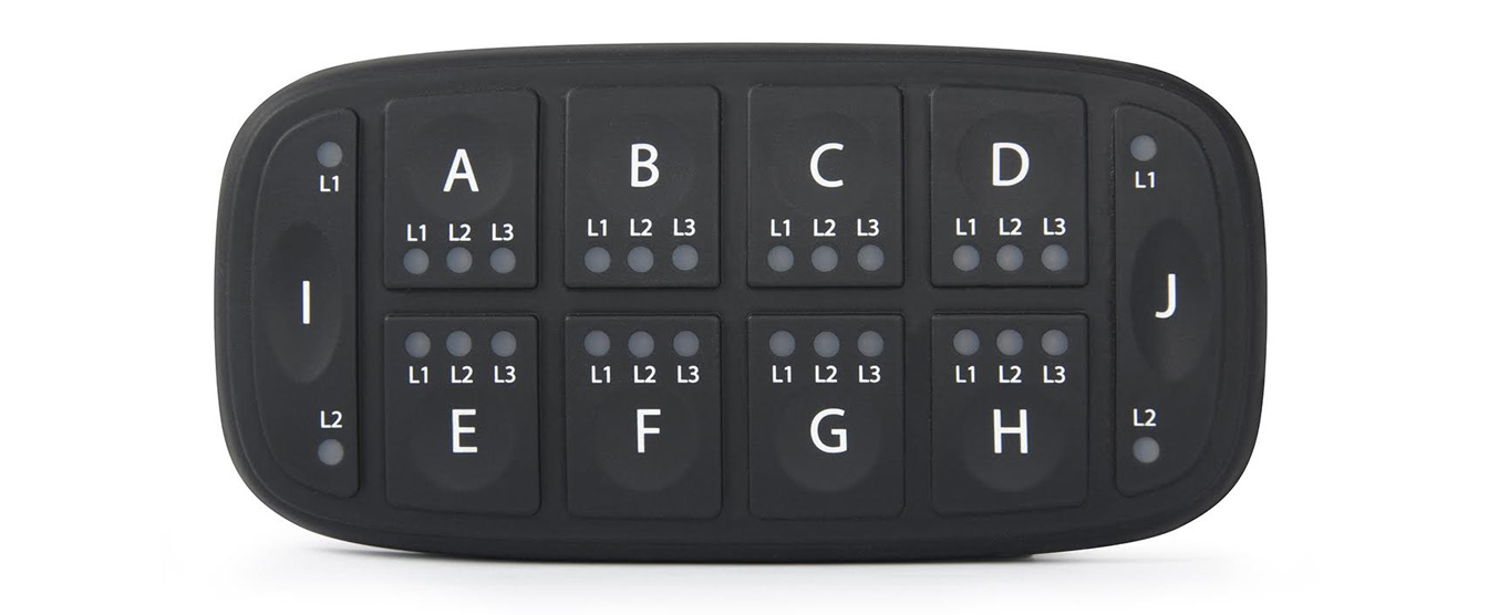 standard PowerKey 1000 CAN bus Keypad