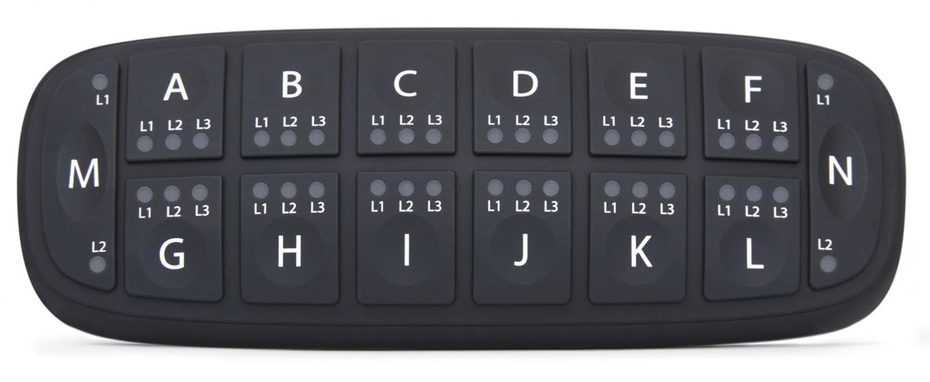 standard PowerKey 1400 CAN bus Keypad