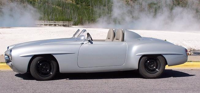 1959 Mercedes 190SL fully electric 2