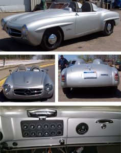 1959 Mercedes 190SL fully electric CAN bus Keypad Blend