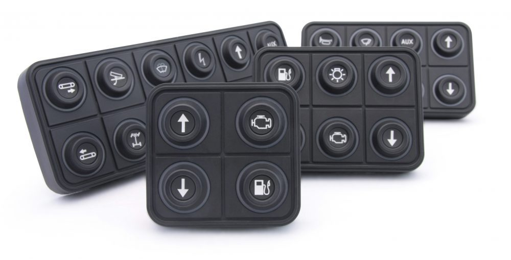 PKP-SI CAN keypad series