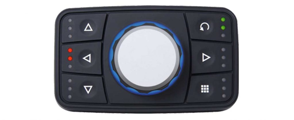 PowerTrack CAN bus Keypad with rotary encoder